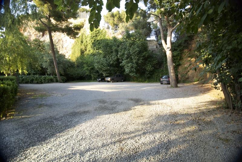 Parking gratuito de la residencia