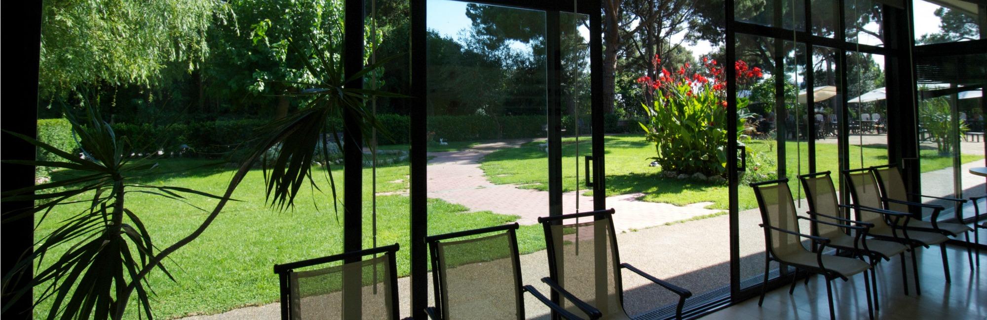 vista jardin residencia putxet