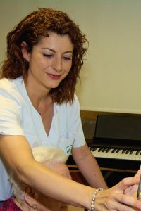 Laura Manzano, fifioterapeuta en Centro Residencial Putxet